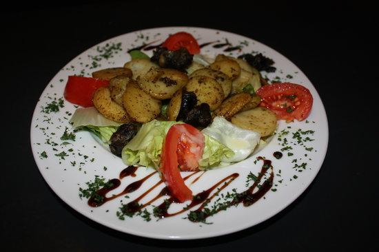 Restaurant de la Tour: La salade d'escargots