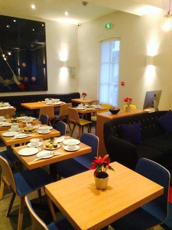 Le Mareuil : Breakfast area