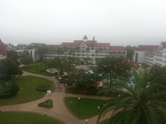 Disney's Grand Floridian Resort & Spa: View from Room 4417