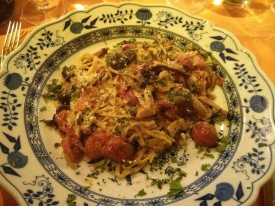 Taverna dello Spuntino: Tagliolini ai funghi