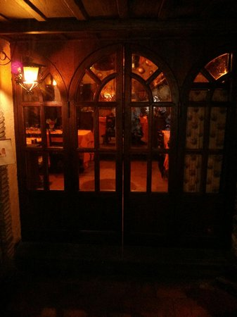 Taverna dello Spuntino: L'ingresso