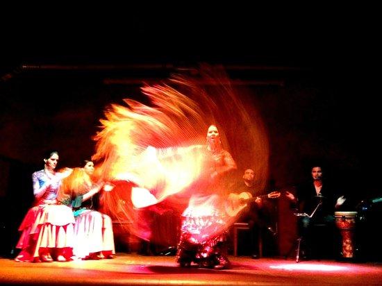 Ceviche Tapas Bar and Restaurant: flamenco show