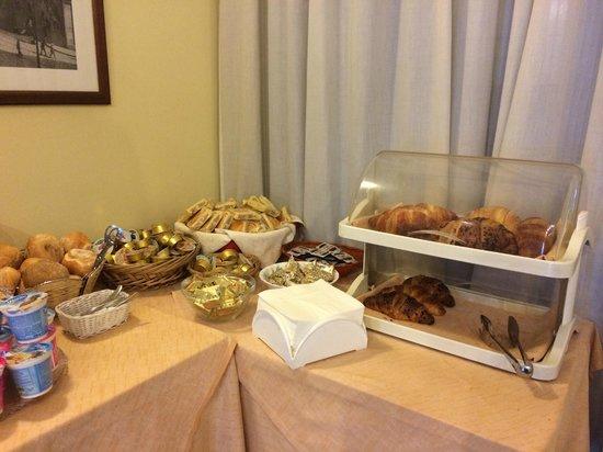 Vecchia Milano: Breakfast selection
