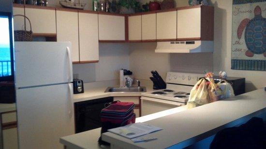 Atlantic Towers : Kitchen room 312