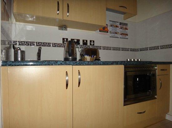 Grand Plaza Serviced Apartments: cozinha