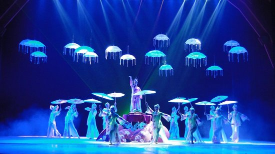 Chaoyang Theater: Lindíssimo show!