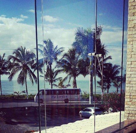 Quinta do Sol Praia Hotel: Tomar cafe assim nao tem preço!