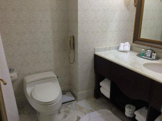 Willard InterContinental Washington: Spacious and clean