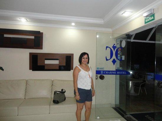 Charme Hotel: Recepção do hotel