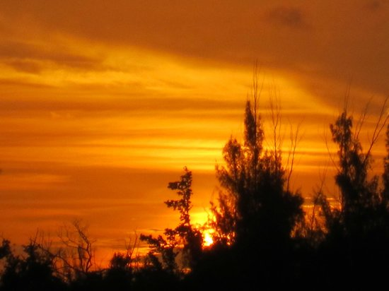 Hotel Cayo Levisa: tramonto favoloso