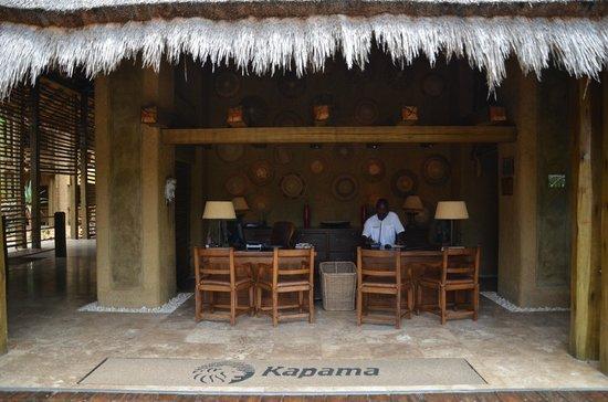 Kapama River Lodge: RECEPÇÃO