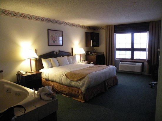 Best Western Sault Ste. Marie: Comfy bed