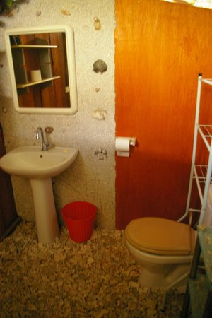 Pension Nahe Toe Toe: shared bathroom
