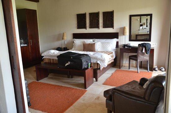 Kapama River Lodge: APARTAMENTO RÚSTICO E SUPER CONFORTÁVEL
