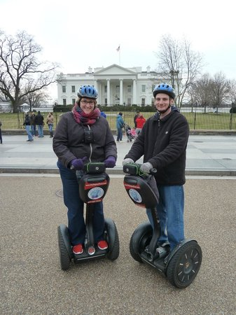 City Segway Tours DC: Segwaying at the White House