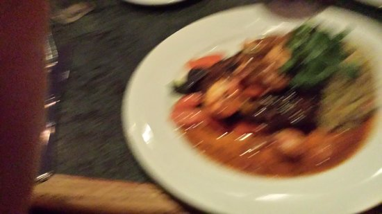 Bob's Bar n' Grill: a blurry shot of the great catfish