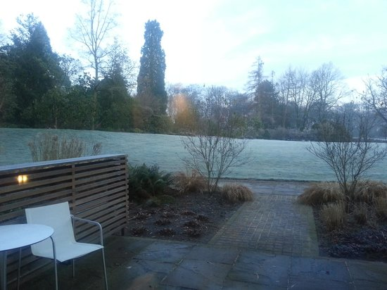 Rudding Park Hotel : View from a room in the Follifoot wing
