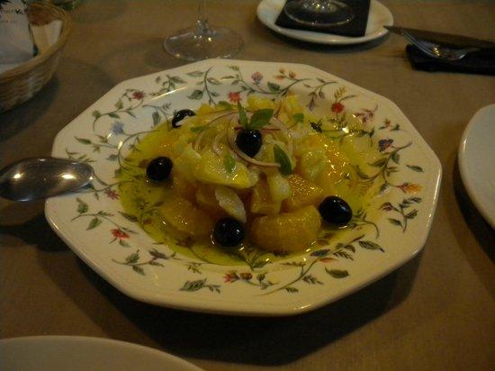 La Flamenka Córdoba: Salada de bacalhau com laranja - tem que provar