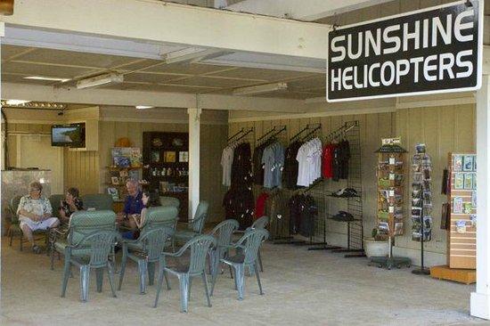 Sunshine Helicopters Lihue : Sunshine office