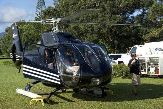 Sunshine Helicopters Lihue : Sunshine helicopter