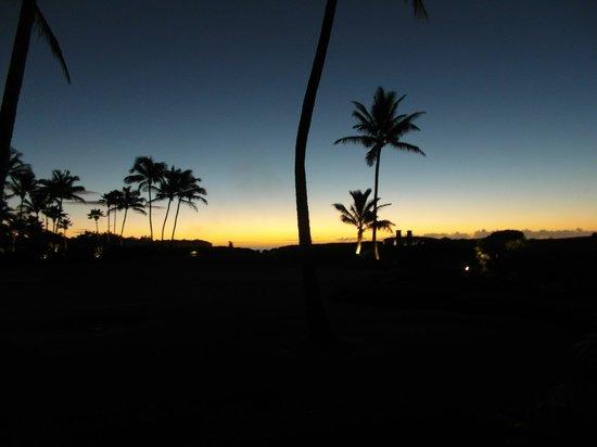 Grand Hyatt Kauai Resort & Spa : Sonnenaufgang