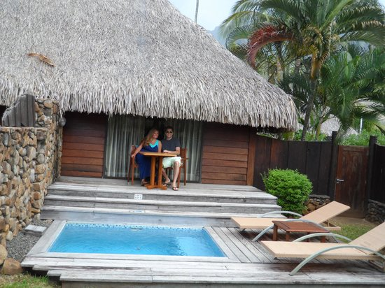 Moorea Pearl Resort & Spa: Our personal backyard