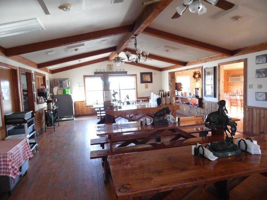 Rancho Cortez: Dining Room