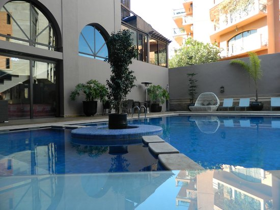 Hivernage Hotel & Spa: boa piscina