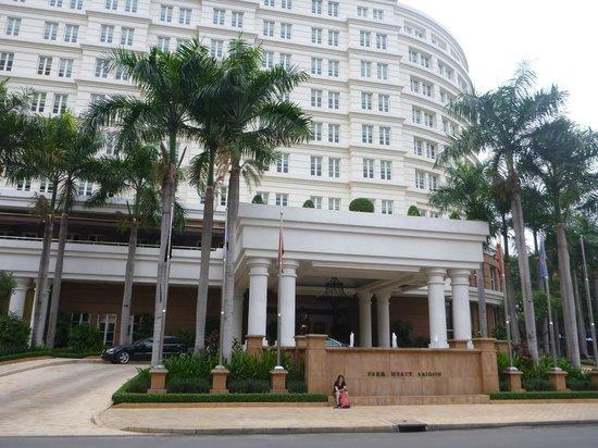 Park Hyatt Saigon: Exterior - front view