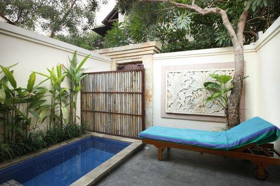 Plunge Pool Villa Picture Of Best Western Kuta Villa Tripadvisor
