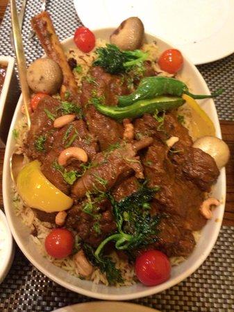 إنديرا مطعم هندي : قوزي لحم