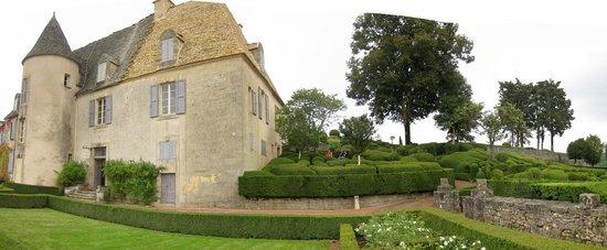 Domaine de La Rhue : Les Jardins de Marqueyssac ne sont pas très loin.