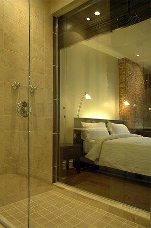 Hotel Le Vincent : Chambre 2 - vue priviligiée