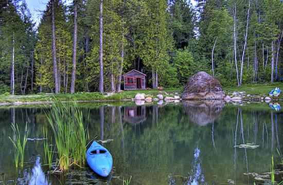 Pond at Talus Rock Retreat