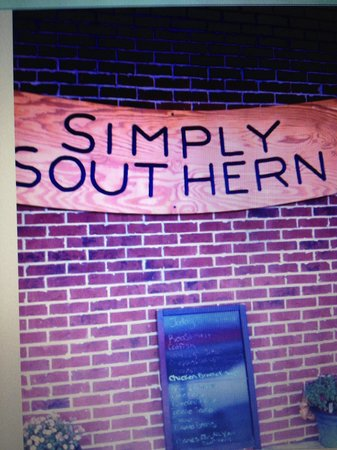 Simply southern restaurant