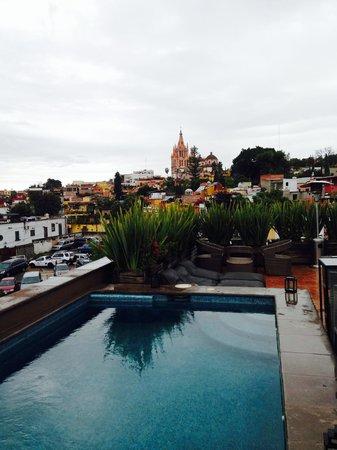 Hotel Nena : Vista desde el Pool bar