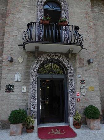 Hotel Castello : Detalhe charmoso da entrada do hotel