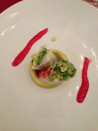 Grand Riviera Princess All Suites Resort & Spa: Appetizer at the Oriental
