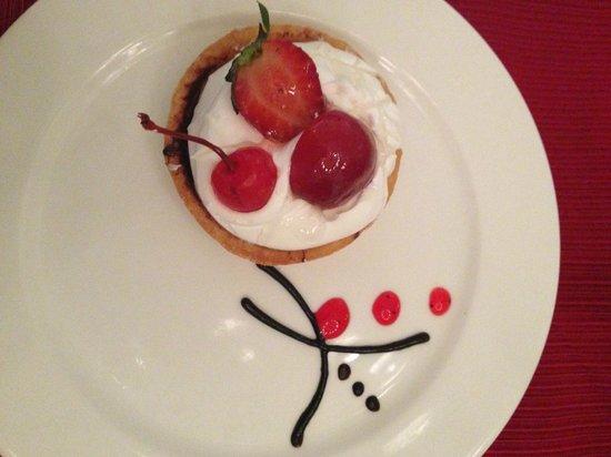 Grand Riviera Princess All Suites Resort & Spa: Ginger tart at the Oriental