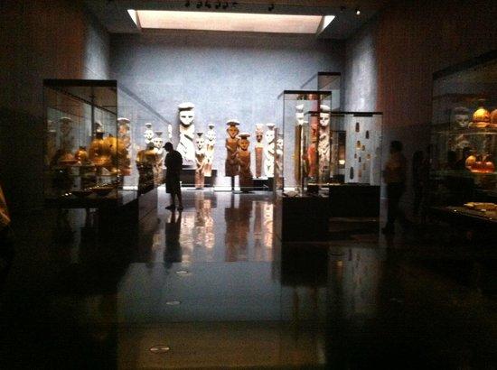 Chilenisches Museum für präkolumbische Kunst: Sala Chile antes de Chile