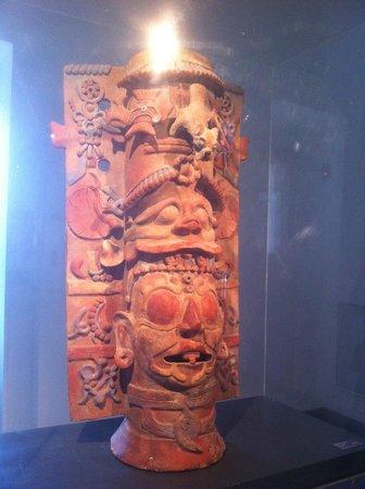 Chilenisches Museum für präkolumbische Kunst: Todas las culturas pre-hispánicas: muestra maya