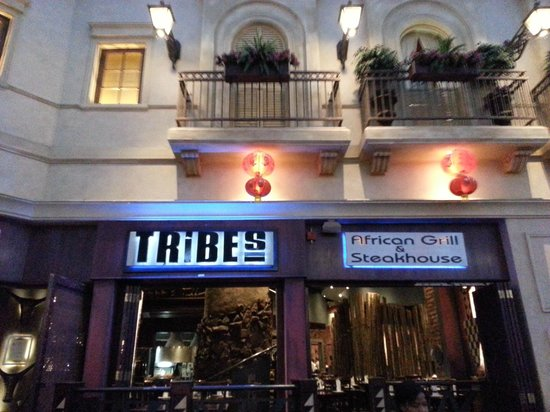 Tribes African Grill & Steakhouse: Boa comida e Ambiente muito agradável!