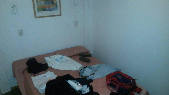 San Remo Palace Hotel: Desastre la habitación