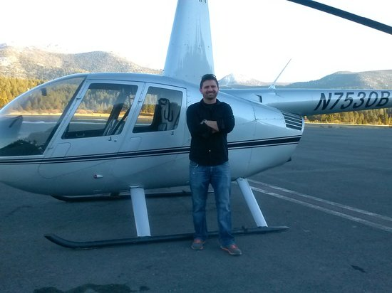 Pacific North Helicopters : our wonderful pilot
