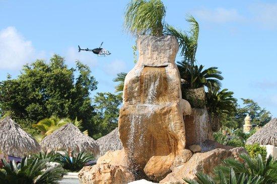 Sirenis Punta Cana Resort Casino & Aquagames: parque aquatico
