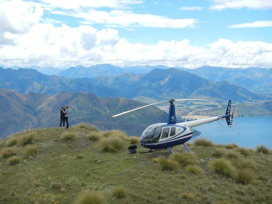 Wanaka Helicopters: fantastic view