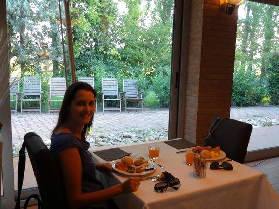 CDH Hotel Villa Ducale : Café da manhã excelente e em um lindo restaurante!