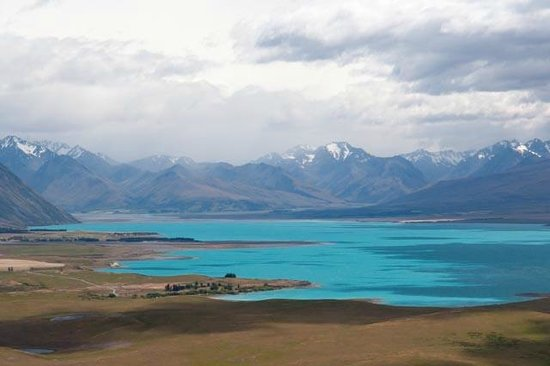 Lake Tekapo Lodge : Lake Tekapo, from nearby Mt. John