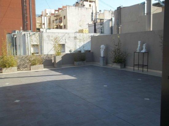Merit Gran Hotel Victoria: terraza