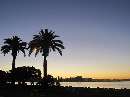 Hilton San Diego Airport/Harbor Island: Sunrise!